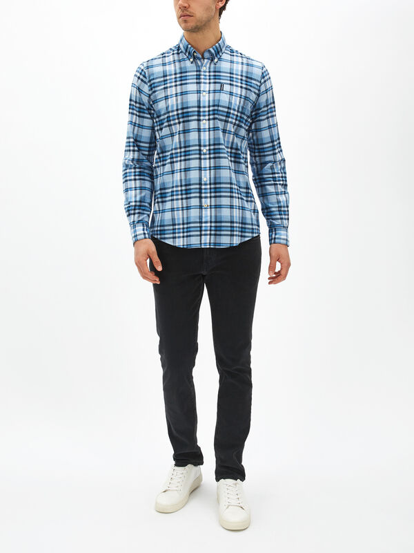Madras Check 5 Tailored Shirt