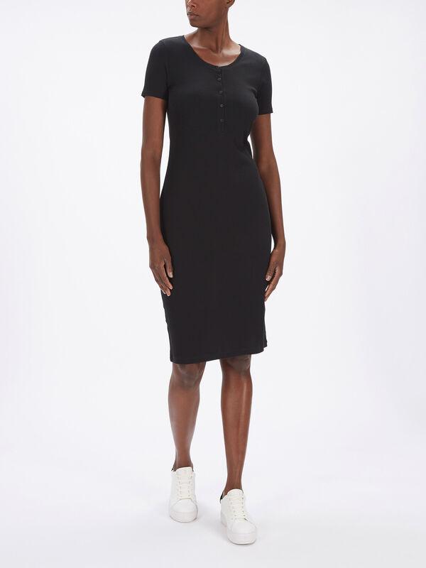 The Rib Midi Dress