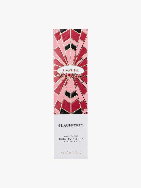 Chypre Cedar Poinsettia Hand Cream