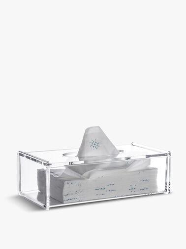 Serne Collection Acrylic Rectangular Tissue Box