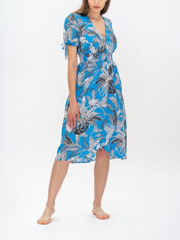 Tulum Beach Short Sleeve Dress