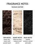 Russian Leather Bath & Shower Gel