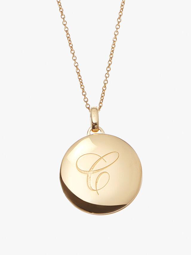 Blank Locket With Diamond Necklace