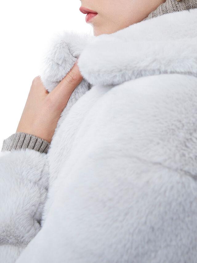 Banna Faux Fur Long Coat