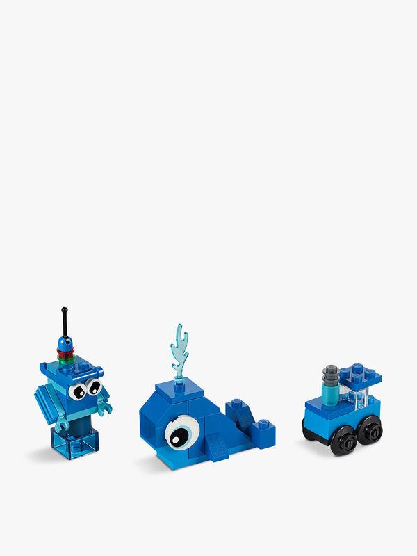 Creative Blue Bricks