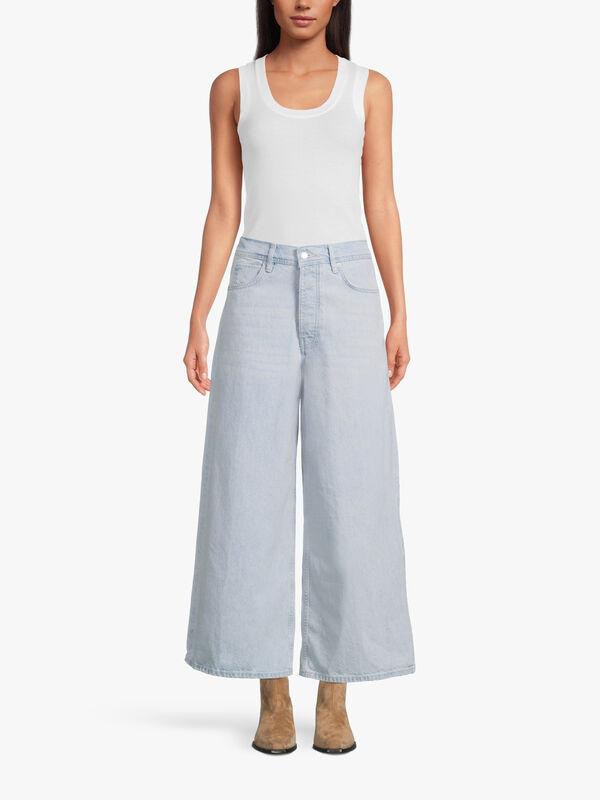 Landry Wide Crop Jeans