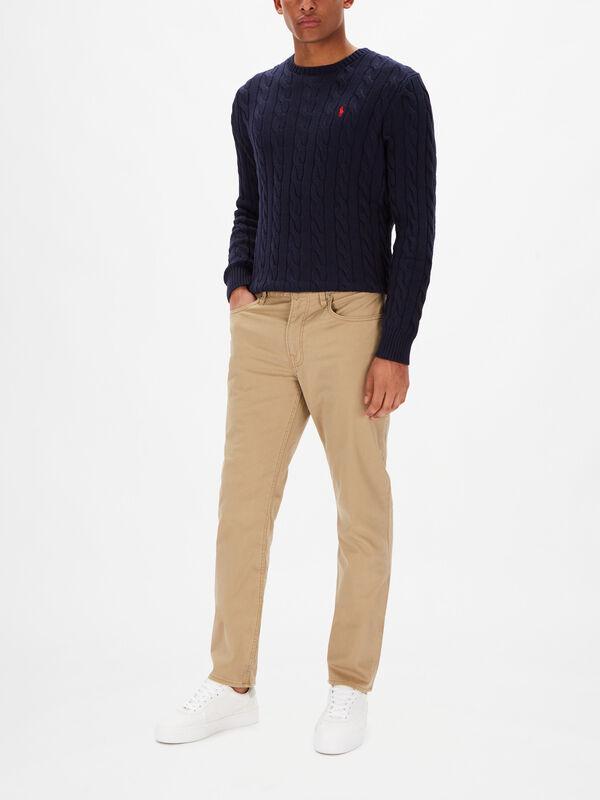 Stretch Sateen Sullivan 5 Pocket Pant