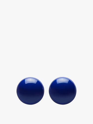 Small Circle Stud Earrings