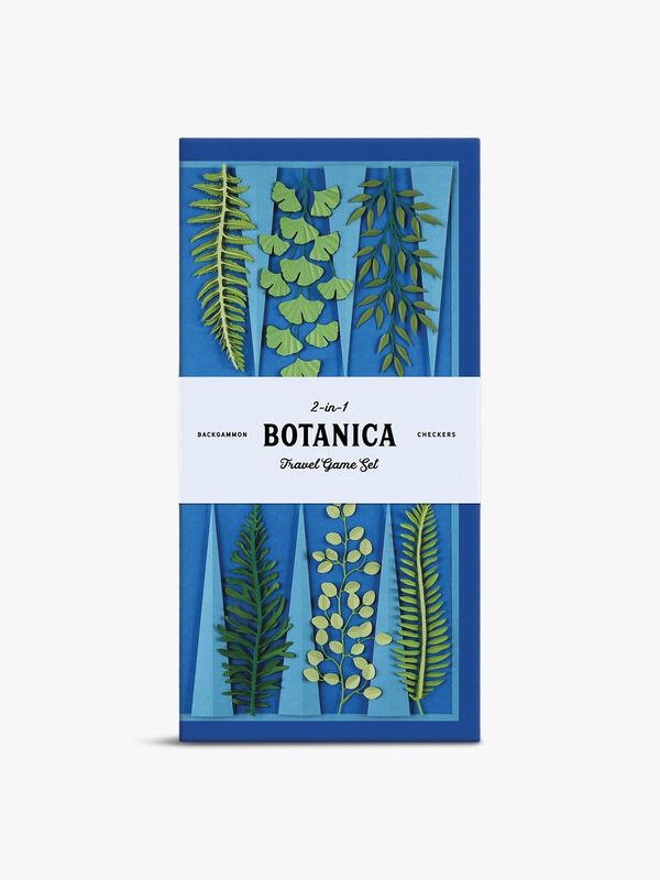 Botanica 2-In-1 Travel Game Set - Checkers & Backgammon
