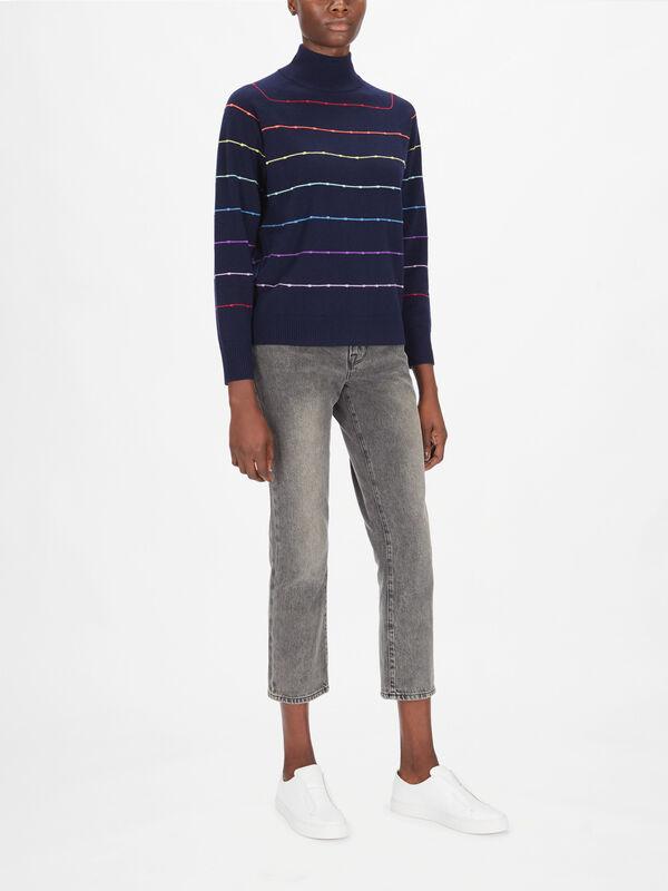 Eloise Multi Stripe Knit