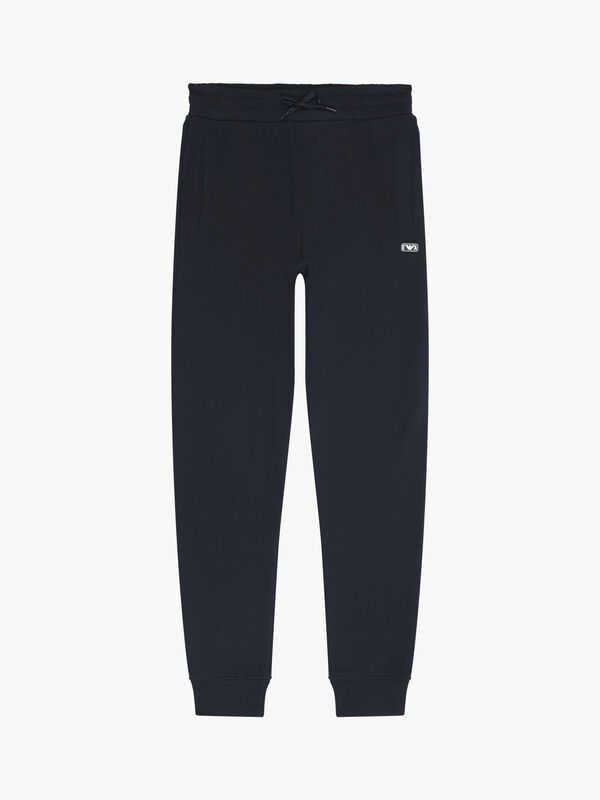 Basic Jogger with Rubber Logo