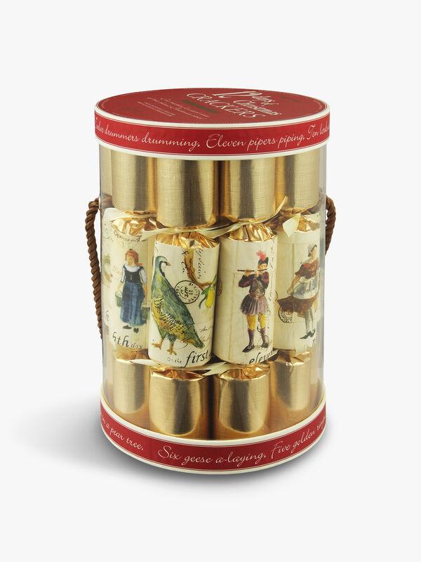 Twelve days of Christmas Crackers