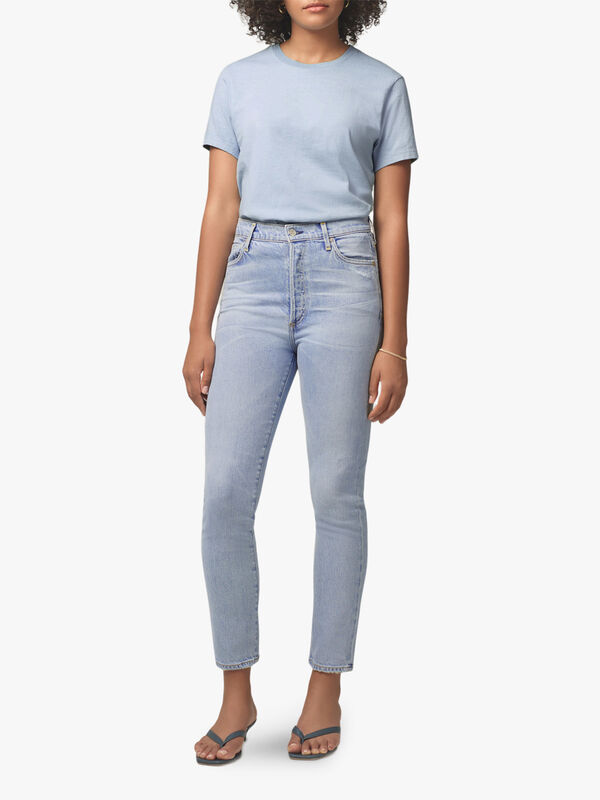 Olivia High Rise Slim Ankle Jeans