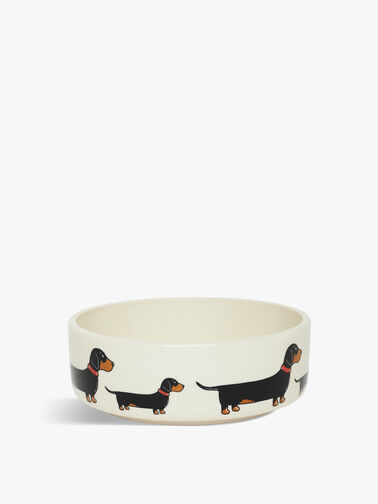 Small Dachshund Dog Bowl