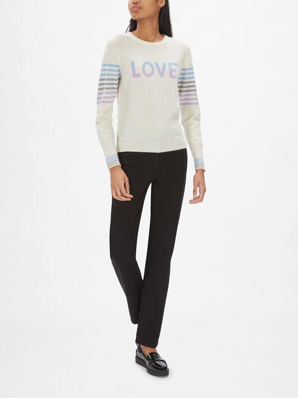 Love Stripe Jumper