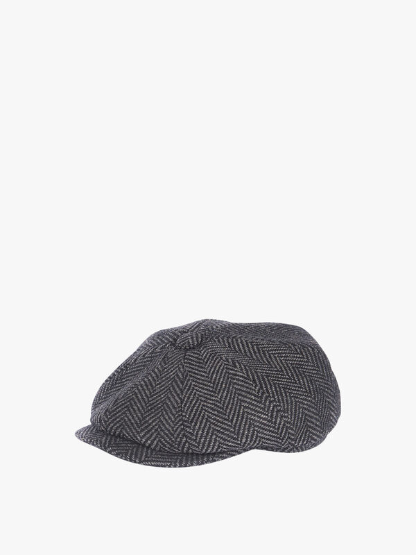 Mixed Tweed Baker Boy Cap