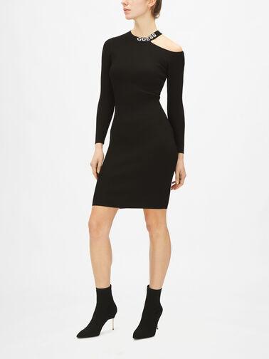 Carol-Cold-Shoulder-Dress-Sweater-W0BK1H