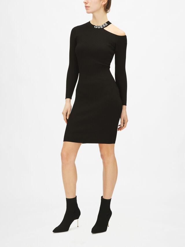 Carol Cold Shoulder Dress Sweater