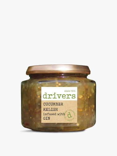 Cucumber Relish With Gin 350g