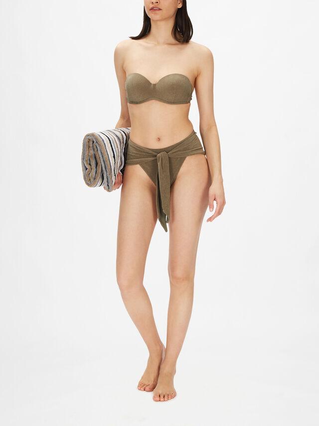 Dylan Strapless High Waist Bikini