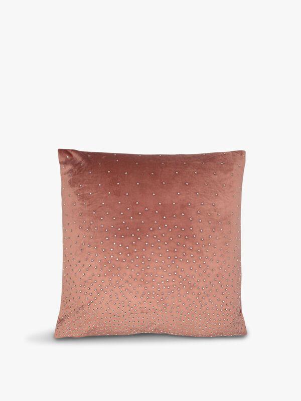 Diamonte Velvet Cushion Cover