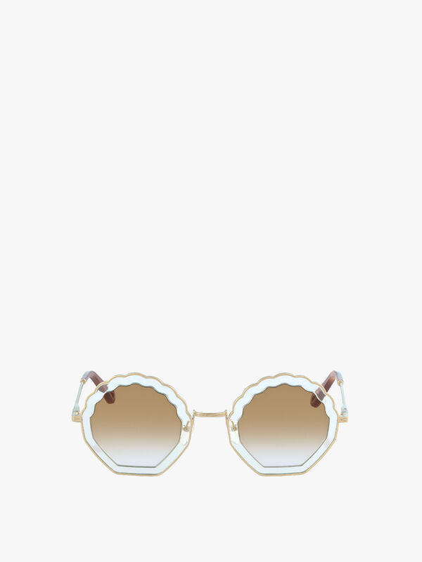 Tally Double Layer Sunglasses