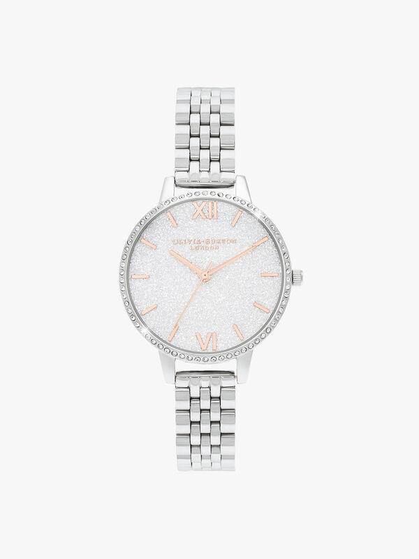 Glitter Dial Bracelet Watch