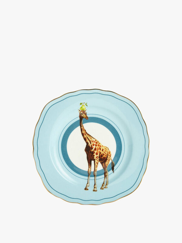 Giraffe Cake Plate