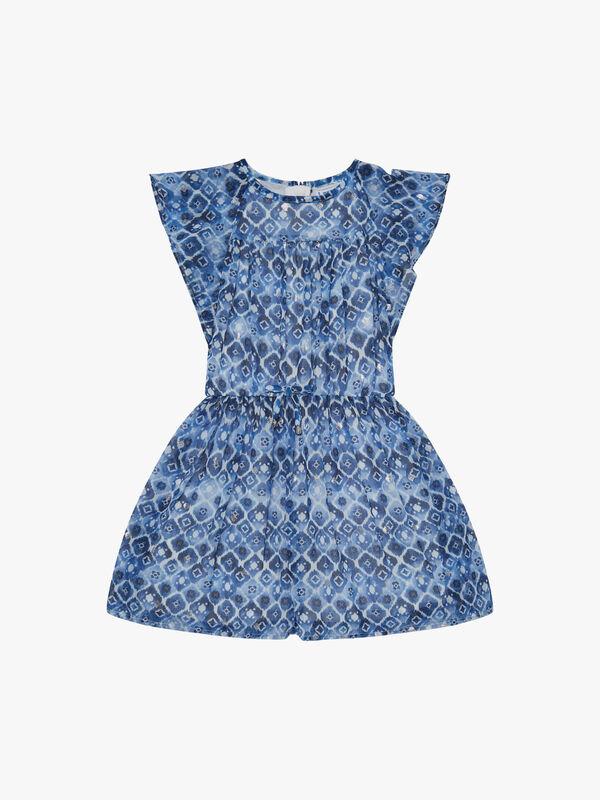 Batik Print Dress