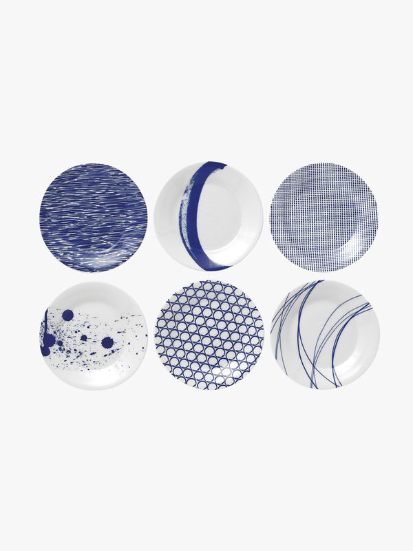 Pacific Plate 16cm Set of 6