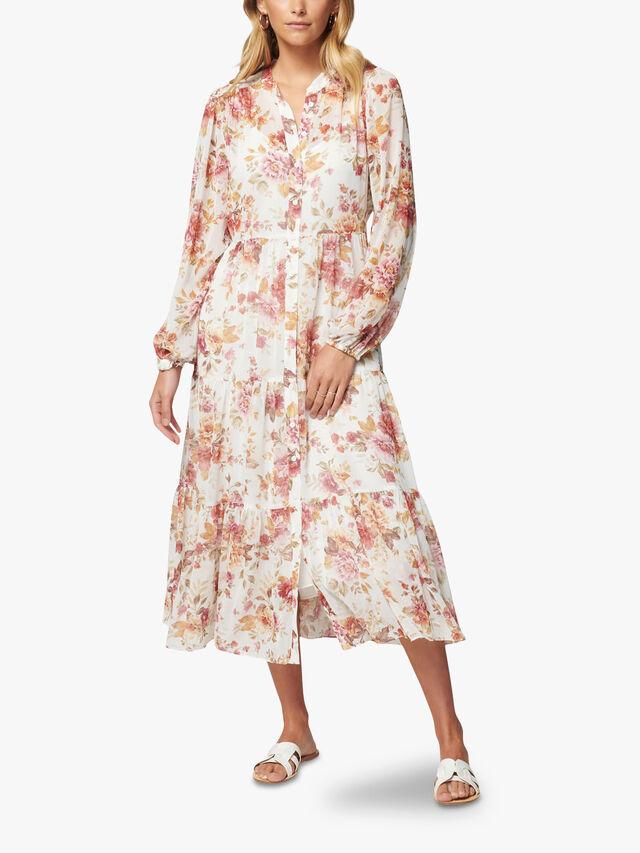Helen Shirt Midi Dress
