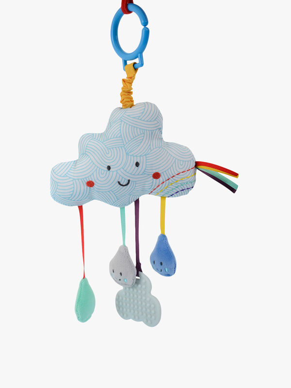 Say Hello Cloud Stroller Toy