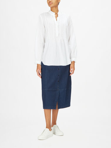 Pleated-Front-Mandarin-Collar-Tunic-w-Buttons-MLAW4043