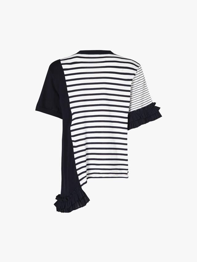 Mix Media Striped Sweater
