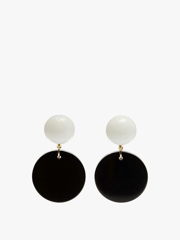 Medium Drop Clip Earrings