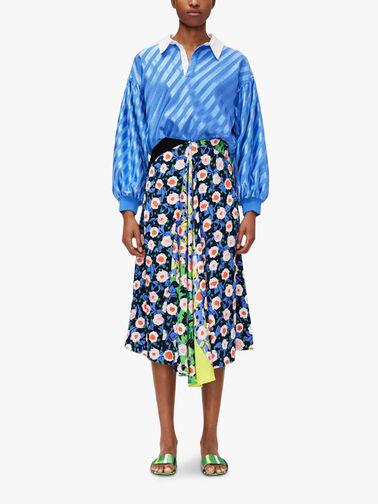 Lilah-Textured-Printed-Skirt-SG3682