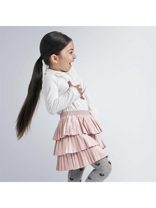 Layered Pleated Skirt