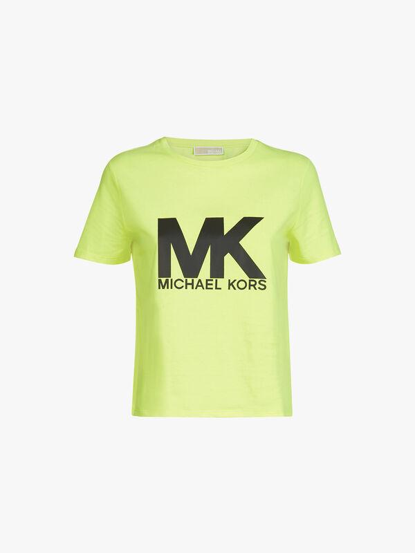 MK Logo Neon Baby Tee