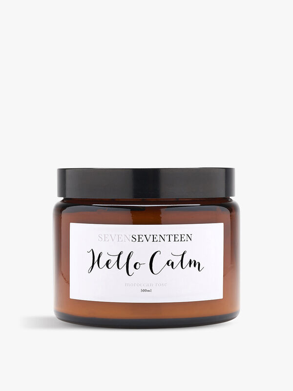 Hello Calm Candle
