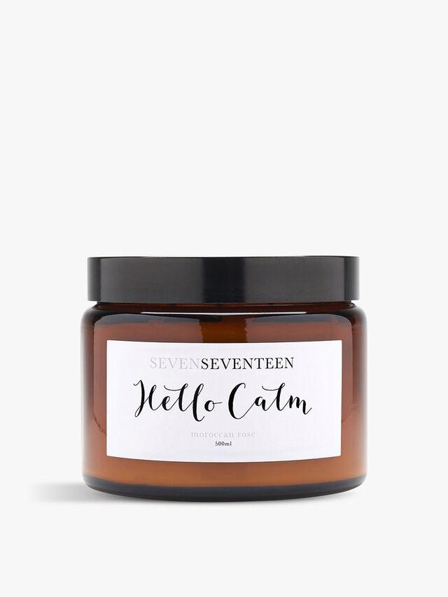Hello Calm Candle