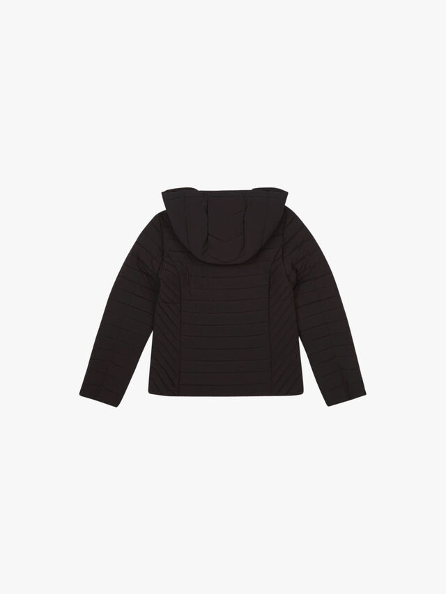 Fitted Hooded Jacket