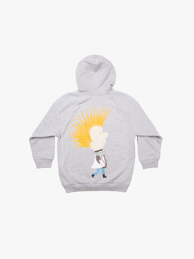 Long Sleeved Sweatshirt With Print