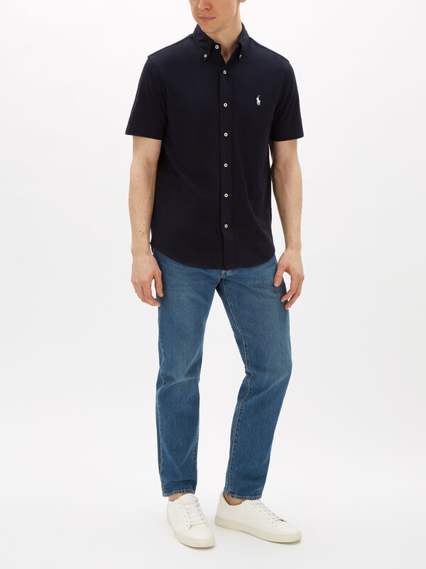 Featherweight Mesh Cotton Shirt