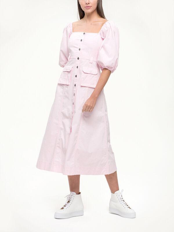 Ripstop Pocket Poplin 3/4 Dress