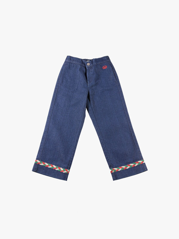 Pants Rinsed Denim