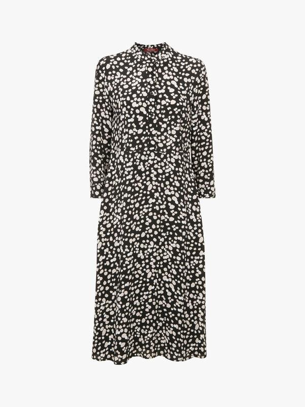 Khat Printed Midi Dress