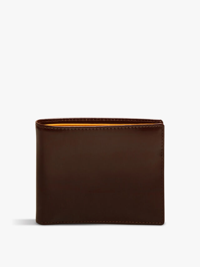 Bridle Hide Billfold with 6 C/C