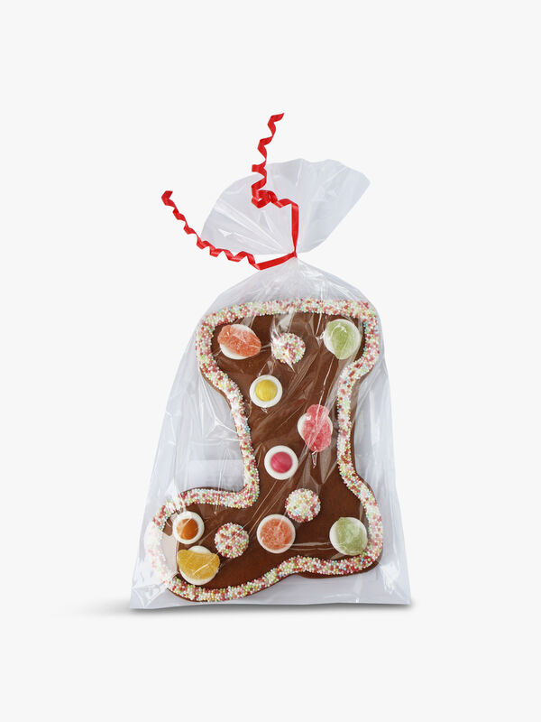 Gummy Gingerbread Stocking  140g