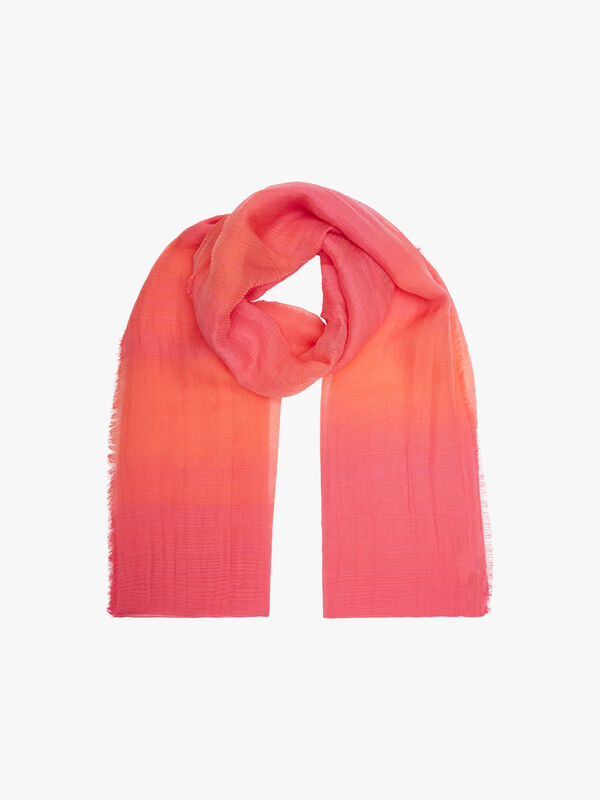 Two Tone Crinkle Scarf