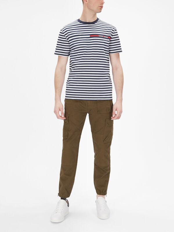 Branded Stripe T-Shirt